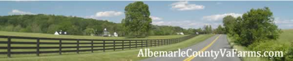 Albemarle County Virginia Farms for sale